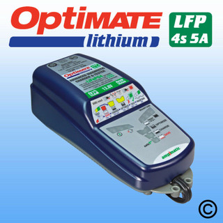 OptiMate 5A Lithium Motorcycle Battery Charger Optimiser for Lithium batteries