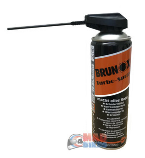 BRUNOX Turbo Spray 5 in 1 Cycle Lubricant Anti Corrosion Protection Cleaner 500m