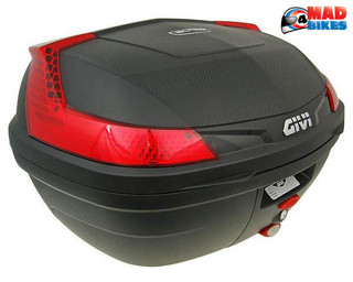 Givi B47N Blade 47Litre Monolock Top Box,LuggageCase + Universal Fitting Plate