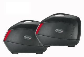 Givi V35N Motorcycle Motorbike Panniers Cases, Hardbags (A Pair)