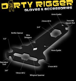 DIRTY RIGGER TECHNICIANS MULTI TOOL SPANNER, SOUND, LIGHT, RIGGING, THEATRE  AV