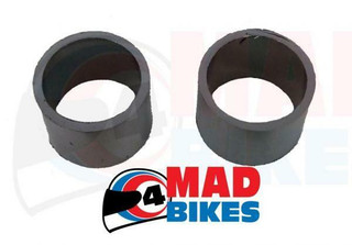 HONDA CBR1000 F 1987 TO 1999  MODELS EXHAUST SILENCER GASKETS SEAL RINGS, A PAIR
