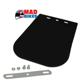 NEW FRONT OR REAR MUD FLAP SUIT MOTORCYCLE, SCOOTER, MOTORBIKE ETC