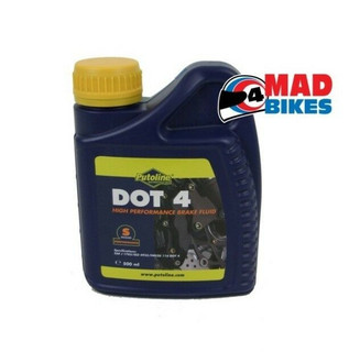 PUTOLINE DOT 4 MOTORCYCLE CLUTCH & BRAKE FLUID 500ml
