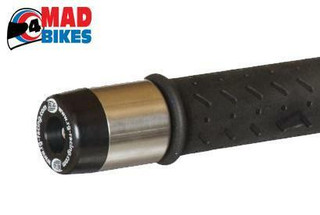 R&G BAR END SLIDERS / CRASH PROTECTORS FOR THE TRIUMPH 1200 TROPHY 2012 TO 2015