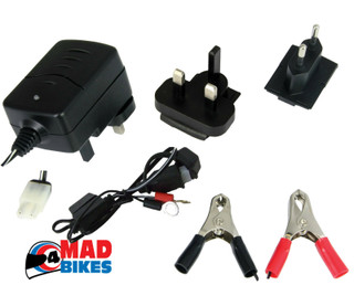 BATTERY TRICKLE CHARGER  WITH AUTO CUT OFF 6 VOLT & 12 VOLT