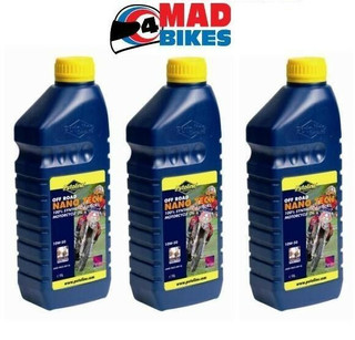 PUTOLINE OFF ROAD NANO TECH 4+ 10W 60 MOTOCROSS 4 STROKE ENGINE OIL  3 X 1LTRS