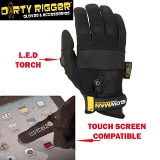 Dirty Rigger Glowman Gloves