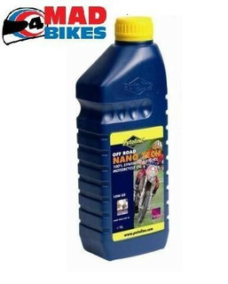 PUTOLINE OFF ROAD NANO TECH 4+ 10W 60 MOTOCROSS 4 STROKE ENGINE OIL  1 X 1LTRS