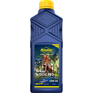 Putoline N-TECH PRO R+ Off Road 10W-40 4 Stroke Oil X 1 Ltr. MX Motocross Enduro