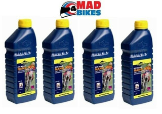 PUTOLINE OFF ROAD NANO TECH 4+ 10W 60 MOTOCROSS 4 STROKE ENGINE OIL  4 X 1LTRS