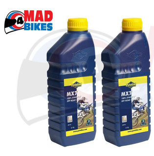 PUTOLINE MX7 100% SYNTHETIC OFF ROAD 2 STROKE OIL. 2T OIL,MX, MOTOCROSS, 2 X 1L