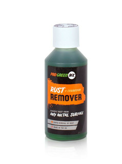 Pro Green Rust Remover 250ml bottle. Removes rust and corrosion from any metal surface