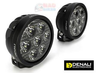Denali D7 LED Light Kit Motorcycle TriOptic Lights with DataDim Technology main image