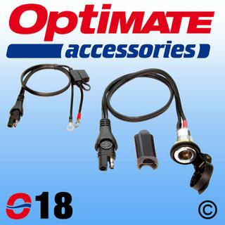 Optimate O18 Panel mounted Din socket lead kit