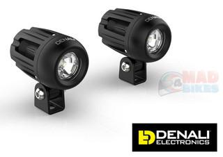 Denali DM LED Motorcycle Light Kit  TriOptic Lights with DataDim Technology main image