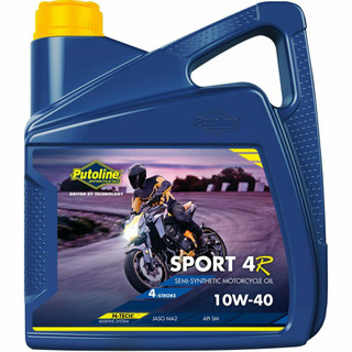 Putoline Sport 4R 10W/40 Semi Synthetic N-Tech Motorcycle Motorbike Oil 4ltr