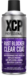 XCP Clear Coat Rust Blocker High Performance Motorcycle Rust Protection Aerosol 400ml
