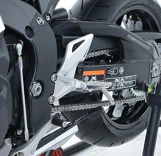 Honda CBR1000RR Fireblade & SP 2008 to 2019 R&G Racing 4 Piece Boot Guard Kit