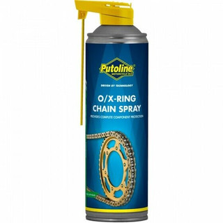 Putoline O/X Ring Motorcycle Chain Lube Spray - 500ml