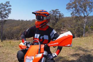 Barkbusters Handguards SABRE MX Enduro Bike Cycle Universal Single Point Mount