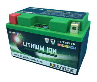 SkyRich HJTZ10S-FP Premium Lithium Motorcycle Battery