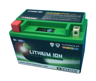 SkyRich HJTX20CH-FP Lithium Motorcycle Premium Battery