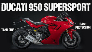 Ducati Supersport 2017 > On Eazi-Grip PRO Tank Grips Protection & Traction