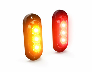 DENALI T3 Switchback LED Stop & Tail Lights to Indicators Rear - Red to Amber