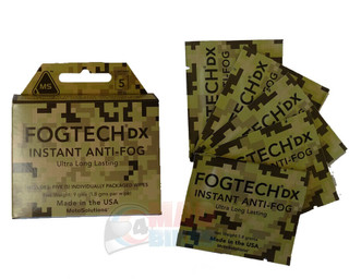 Fogtech DX Camo Box Anti Fog Solution Wipes