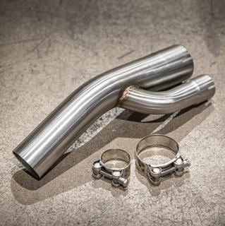 BMW S1000RR (2017-2018) Lextek Stainless Steel Exhaust Link Pipe