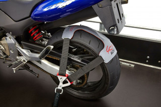 ACEBIKES - TyreFix Basic - Motorcycle Transport Tie Down System on bike