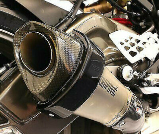 BMW HP4 R&G Racing Akrapovic Hexagonal Exhaust Silencer Can Protector