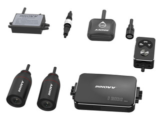 Innovv K3 Motorcycle Dash Camera Front & Rear Recording