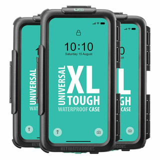 Ultimateaddons Universal Motorcycle Waterproof Tough Phone Mount Case 3 Sizes