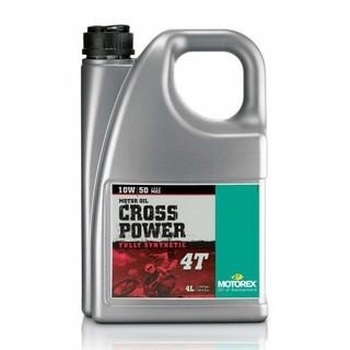 Motorex Cross Power 4T Fully Synthetic Pro Performance 10W/50 Motorcycle Oil