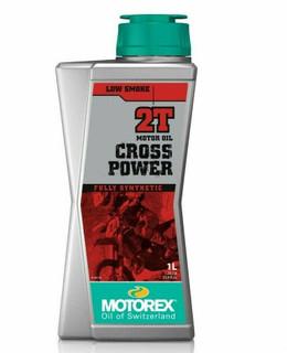 Motorex Cross Power 2T Fully Synthetic Motocross 2 Stroke Oil
