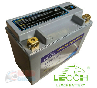 New Leoch Lithium Light Weight Motorcycle Battery GYZ20H / YTX20H-BS / YTX20-BS