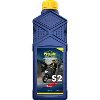 Putoline S2 Semi Synthetic 2 Stroke Motorcycle Oil, Scooter, Commuter, Quad, Etc