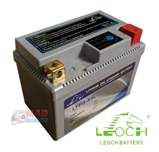 KTM 250 300 350 400 450 525 EXC, EXC-F, Leoch Lithium Battery 36 Month Guarantee