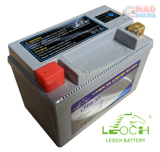 Leoch Lithium (LiFePo4) Light Weight Battery 36 Month Guarantee,YTX9-BS / CTX9BS