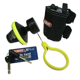New Abus Granit Victory X-Plus 68 Roll-Up Motorcycle Motorbike Disc Lock