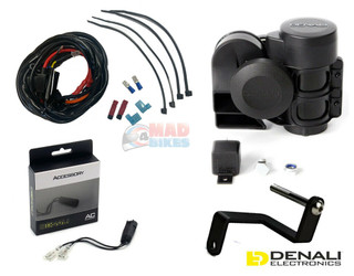 DENALI 120dB Compact Air Horn Kit BMW R1200GS LC & R1200GS Adventure 2013 > 2018