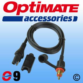 Optimate Acumate O9 (SAE79) Motorcycle 12V DIN Plug Lead, BMW, Ducati, Triumph.
