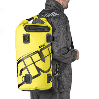 Givi EA114 Waterproof Motorcycle Tail Pack Seat Dry Bag 30 Ltrs Yellow carry on back