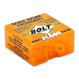 Bolt Hardware Full Plastic Kit Fastener Set - KTM SX & XC 125, 150, 200, 300
