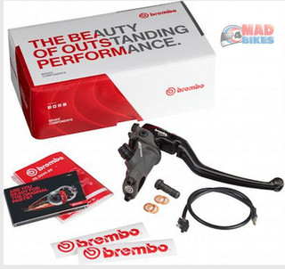Brembo Forged Radial Front Brake Master Cylinder 19 RCS Corsa Corta 110C74010