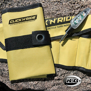R&G Click'n'Ride Quick Release Indicator Storage Pouch / Holder