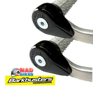 BarkBusters Black Powder Coated Bar End Weights Helps Reduce Handlebar Vibration
