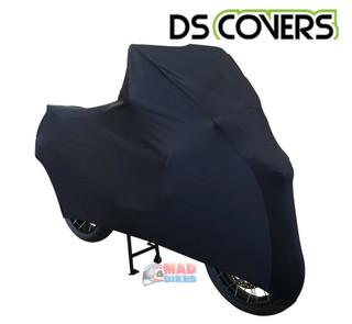 DS FLEXX Super Premium Stretch Indoor Motorcycle Cover